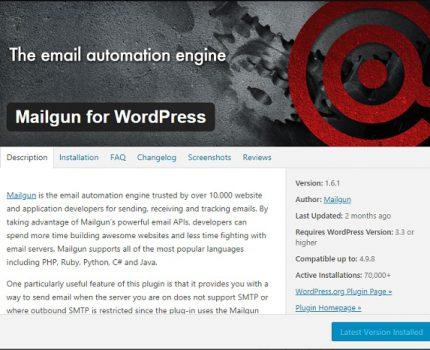設定Mailgun為WordPress與Woocommerce的發信主機